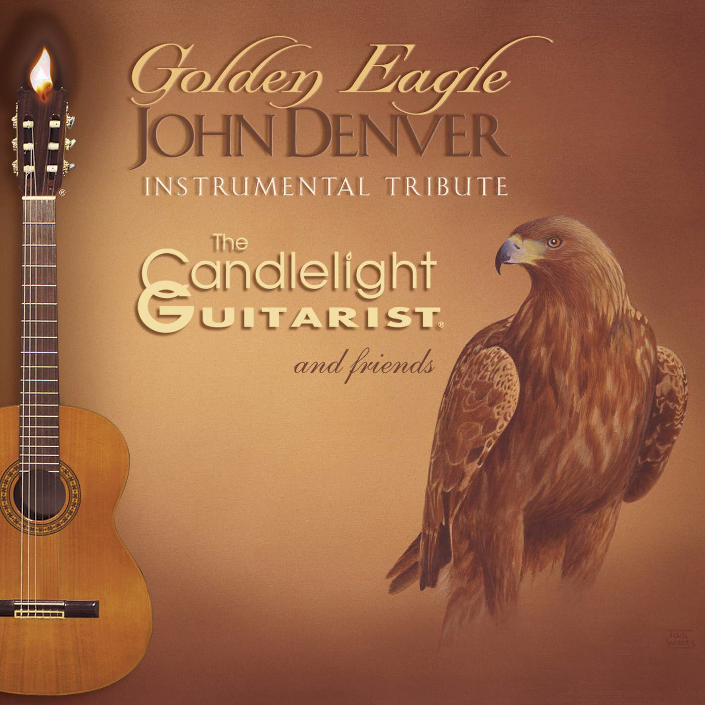 Golden Eagle: JOHN DENVER Instrumental Tribute by The Candlelight Guitarist ®